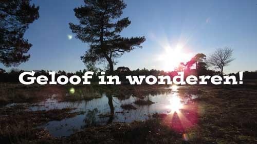 Lezing Geloof In Wonderen